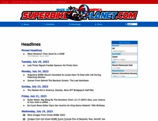 superbikeplanet.com screenshot