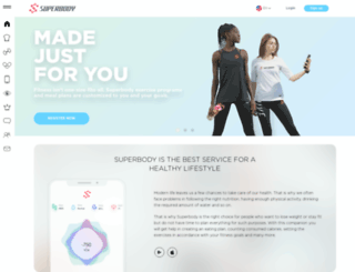 superbody.com screenshot