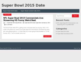 superbowl2015datewinners.com screenshot