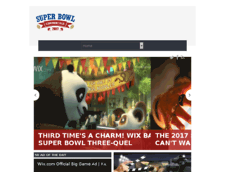 superbowlcommercial2015.com screenshot