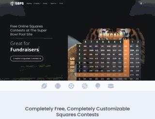 superbowlpoolsite.com screenshot
