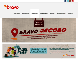 superbravo.com.do screenshot