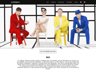 superbus.fr screenshot