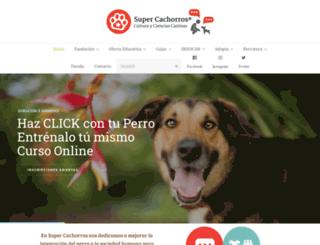 supercachorros.org screenshot