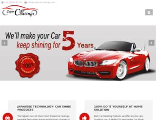 supercarcoatings.com screenshot