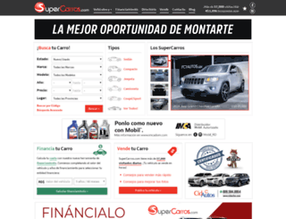 supercarros.com.do screenshot