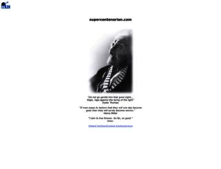 supercentenarian.com screenshot