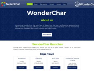 superchar.co.za screenshot