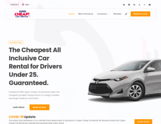 supercheapcar.com screenshot