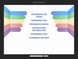superchips.fi screenshot