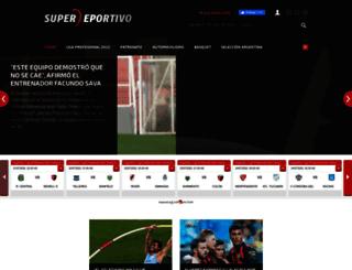 superdeportivo.com.ar screenshot