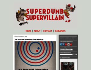 superdumbsupervillain.com screenshot