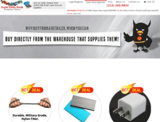 superearlybirds.com screenshot