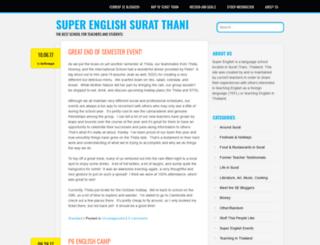 superenglishsuratthani.wordpress.com screenshot
