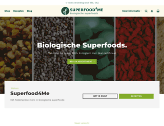 superfoodme.nl screenshot