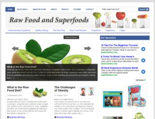 superfoods-raw.com screenshot