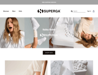 superga.it screenshot