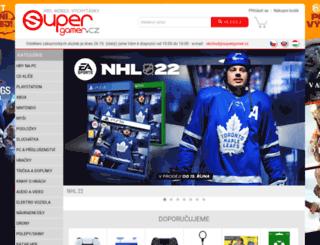 supergamer.cz screenshot