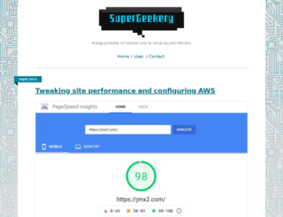 supergeekery.com screenshot
