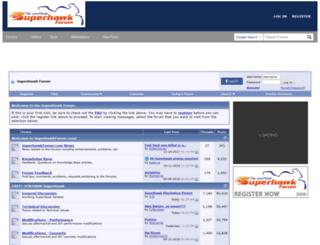 superhawkforum.com screenshot