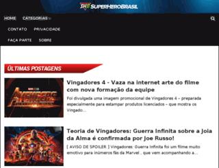superherobrasil.com screenshot