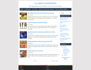 superherofan.blogspot.com screenshot