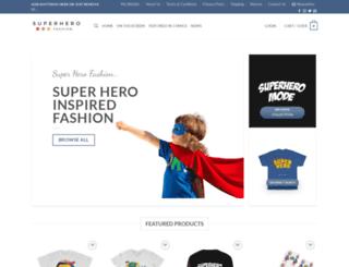 superherofashion.com screenshot