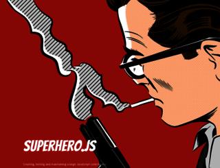superherojs.com screenshot