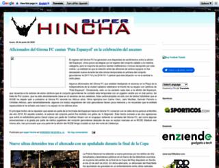 superhincha.blogspot.com.es screenshot