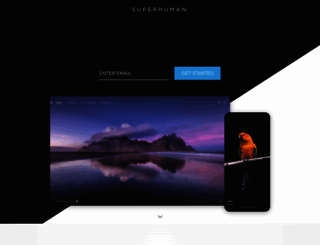 superhuman.com screenshot