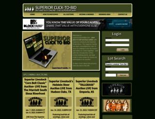superiorclicktobid.com screenshot