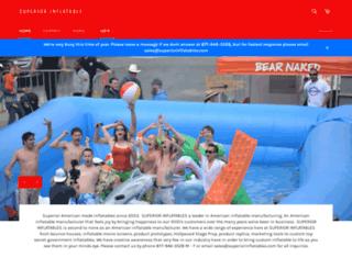 superiorinflatables.com screenshot