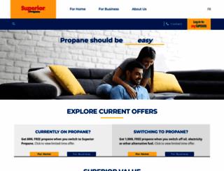 superiorpropane.com screenshot