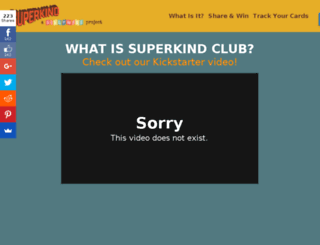 superkindclub.com screenshot