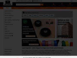 supermagnete.fr screenshot
