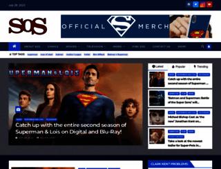 supermanofsteel.com screenshot