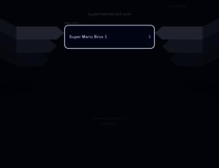 supermariobros3.com screenshot