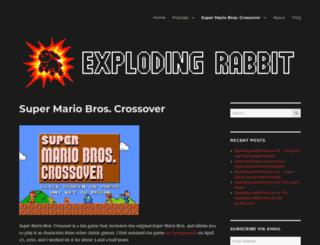 supermariobroscrossover.com screenshot