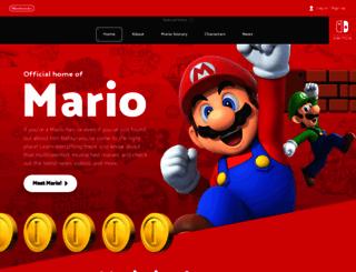 supermariobrothers.org screenshot