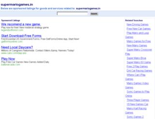 supermariogames.in screenshot