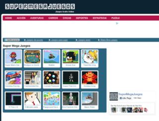 supermegajuegos.com screenshot