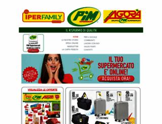 supermercatipim.it screenshot