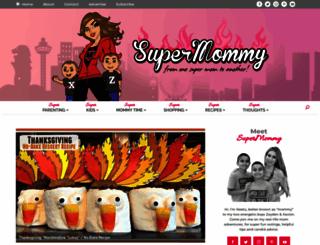 supermommy.com.sg screenshot