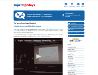 supermondays.org screenshot