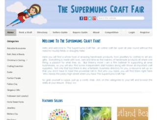 supermumscraftfair.co.uk screenshot
