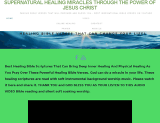 supernaturalhealing.org screenshot