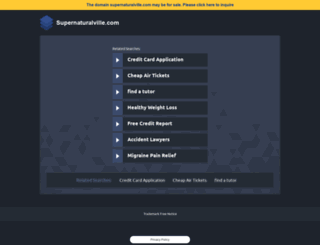 supernaturalville.com screenshot