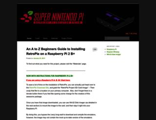 supernintendopi.wordpress.com screenshot