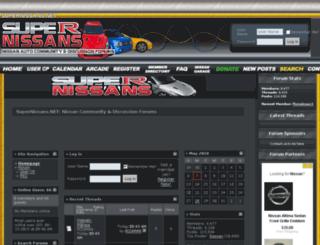 supernissans.net screenshot