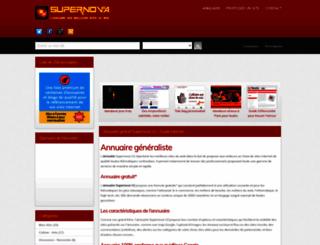 supernova-annuaire.com screenshot